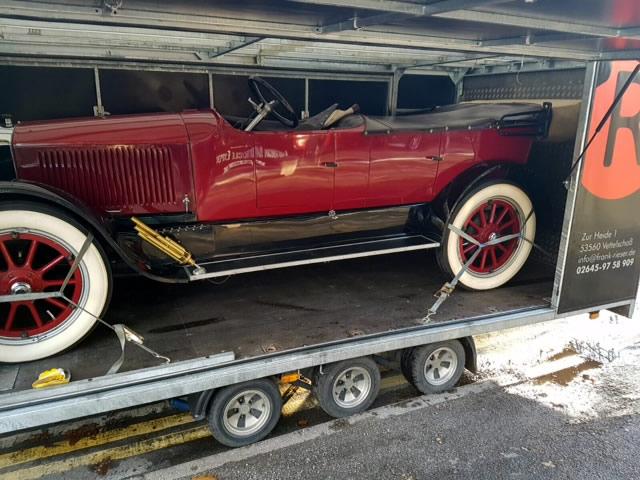 oldtimer transporte